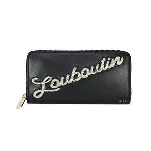 Christian Louboutin Panettone Logo Leather Wallet
